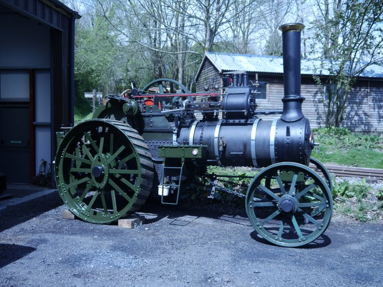 "Wallis & Steevens 7HP Expansion engine No 7662 ""Pensioner""."