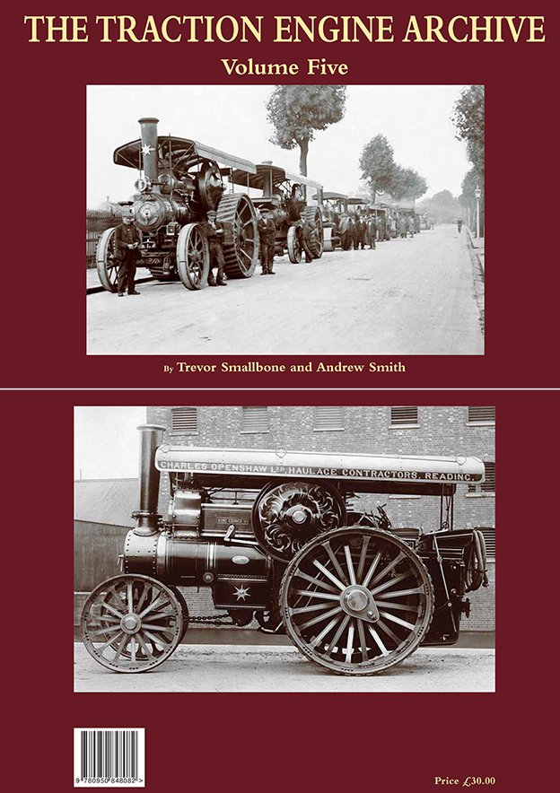The Traction Engine Archive Volume Five - Front  and Rear Covers