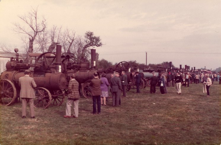 General view of late Tom Paisley's dispersal sale held on Wednesday 1st October 1980