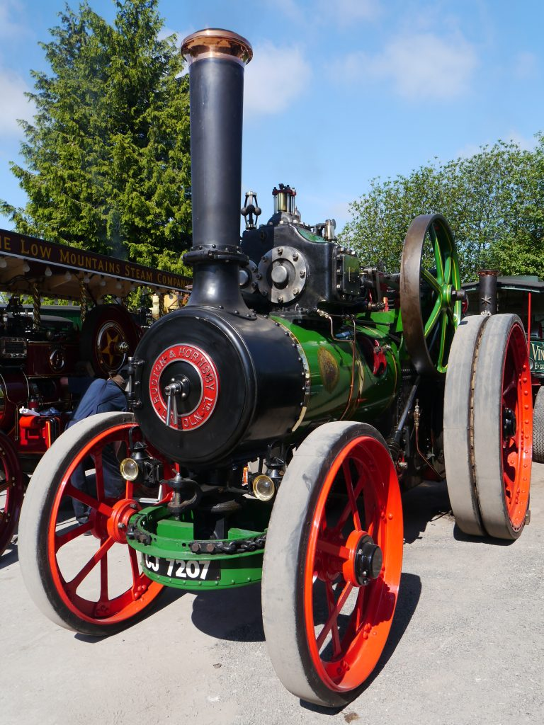 "Ruston Hornsby ""SC"" class compound traction engine No. 122300 recently purchased by Nick Baker from the Bedfordshire area."